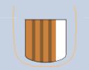 Líneas paralelas longitudinales de color marrón que son regulares en coloración, espaciado y grosor en toda la lesión