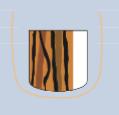 Líneas longitudinales de color marrón a negro, de coloración irregular, Espaciado y espesor que interrumpe el patrón paralelo normal
